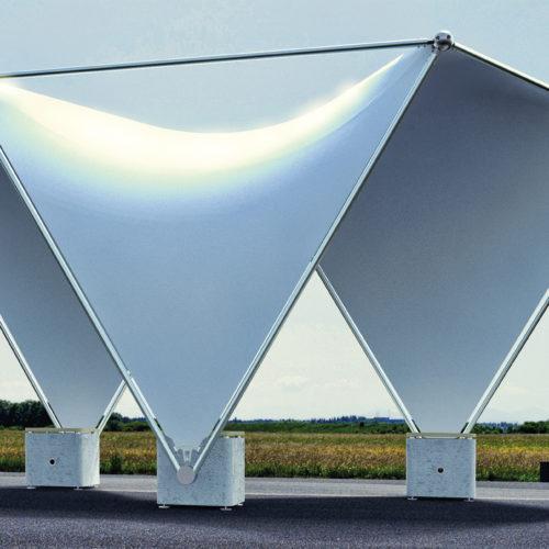 Temporary Canopy Shelter System